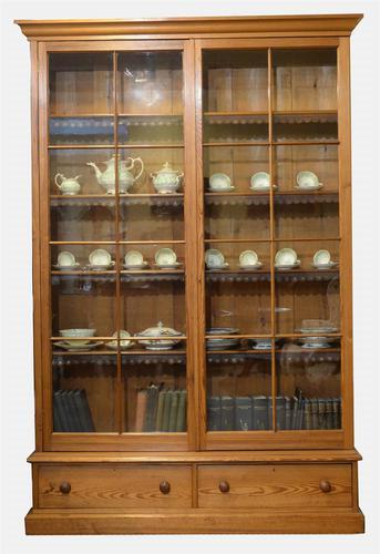 19th Century Pine Bookcase (1 of 1)