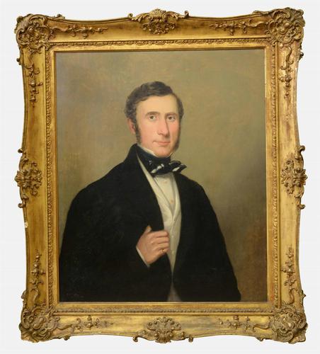 19th Century Portrait of Gentleman (1 of 1)