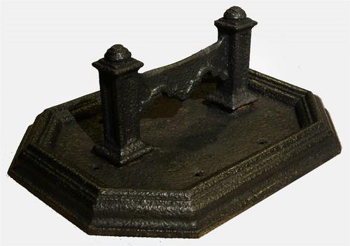 Large Cast Iron Boot Scraper c.1800 (1 of 1)