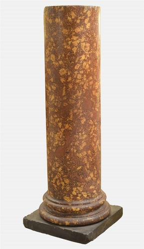 Early 19th Century Scagliola Clasical Column (1 of 1)