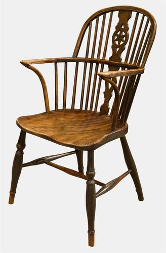 Late Georgian 'Star' Back Windsor Chair c.1820 (1 of 1)