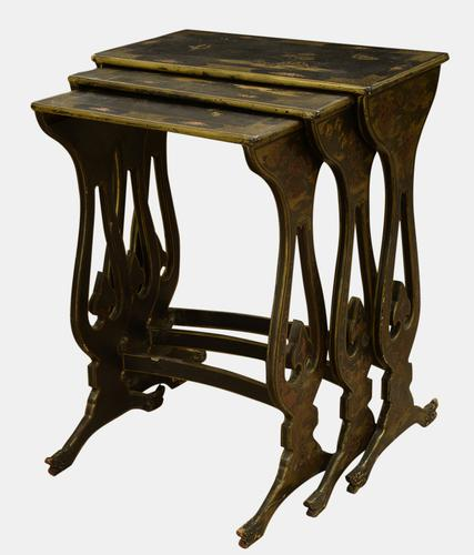 Nest of 3 19th Century Tables (1 of 1)