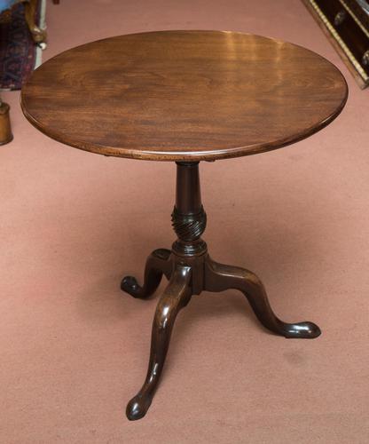 Circular Tripod Table c.1770 (1 of 1)