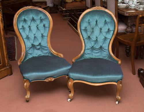 Near Pair of Victorian Chairs (1 of 1)