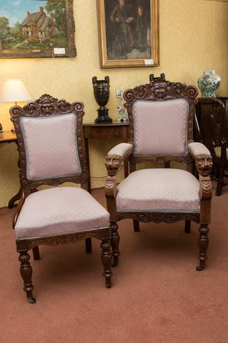 Set of 8 Chairs c.1880 (1 of 1)