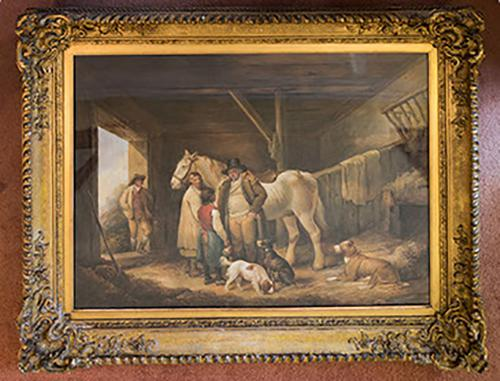 Framed Painting c.1840 (1 of 1)