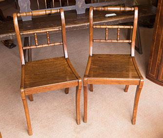 Pair of Chairs c.1820 (1 of 1)