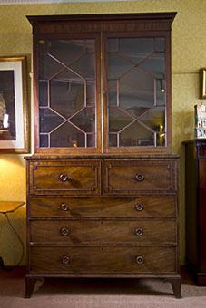 Bookcase Secretaire C.1820 (1 of 1)