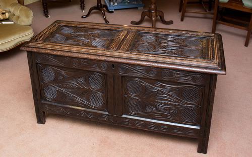 Oak Coffer c.1650 (1 of 1)