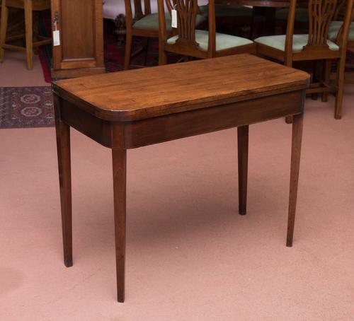 Fold Over Tea Table / Side Table (1 of 1)