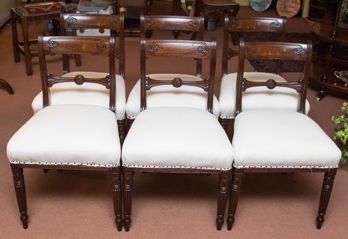 Set of Six Chairs c.1820 (1 of 1)