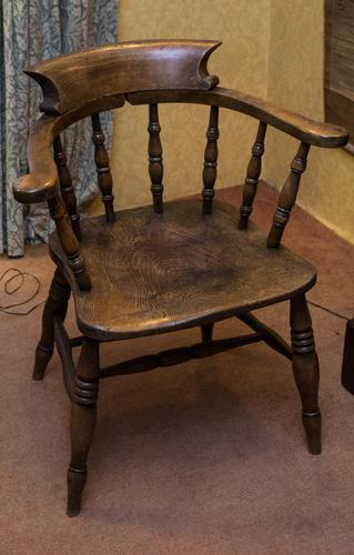 Smokers Bow Chair c.1850 (1 of 1)