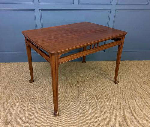 Majorelle Style Walnut Centre Table c.1910 (1 of 9)