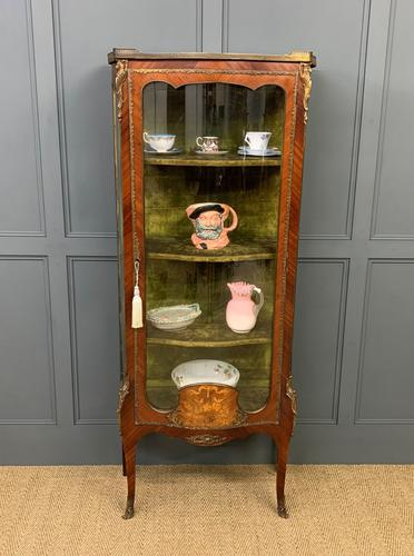 French Kingwood & Marquetry Vitrine c.1895 (1 of 15)