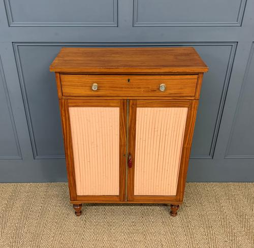 Regency Inlaid Satinwood Chiffonier (1 of 13)
