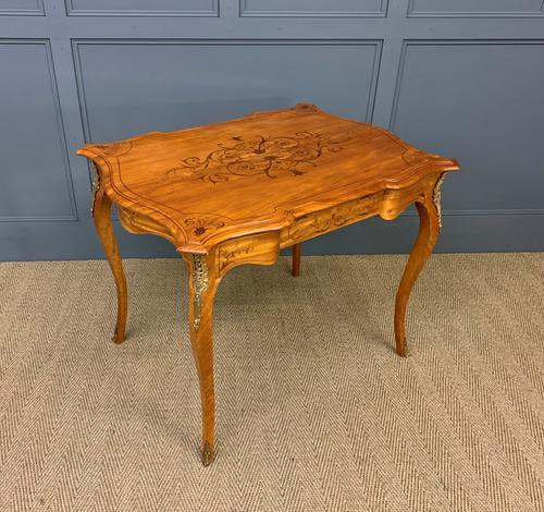Inlaid Satinwood Table c.1895 (1 of 16)