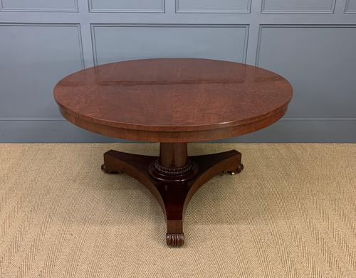 William IV Flame Mahogany Supper Table by Gillows (1 of 14)