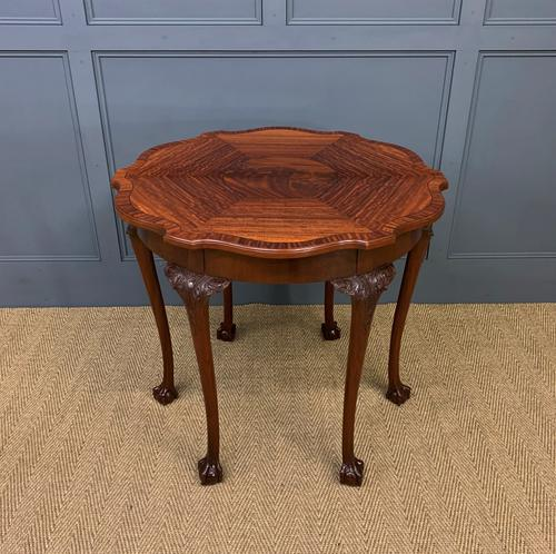 Chippendale Style Centre Table c.1910 (1 of 9)
