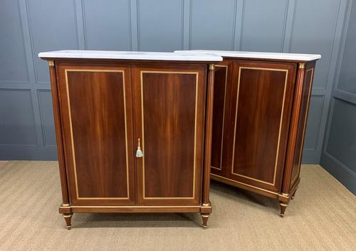 Superb Pair of Mahogany Cabinets by Rinck of Paris (1 of 18)