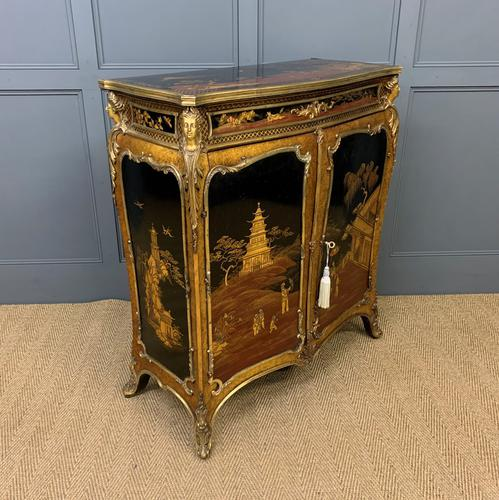 Superb Chinoiserie Side Cabinet by C Mellier & Co of London (1 of 28)