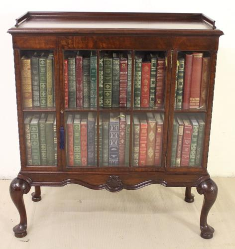 Mahogany Glazed Bookcase by Waring & Gillow c.1910 (1 of 1)