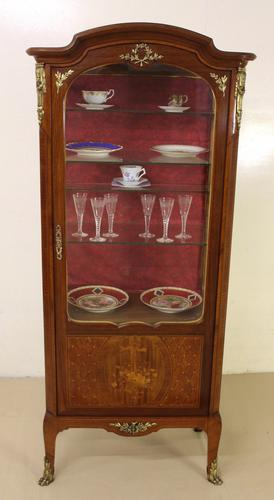French Marquetry Kingwood Vitrine c.1910 (1 of 1)