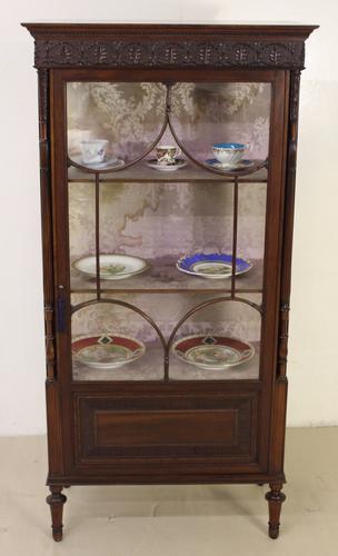 Mahogany Display Cabinet c.1890 (1 of 1)