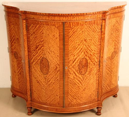 Satinwood Inlaid Commode by Edwards & Roberts (1 of 1)