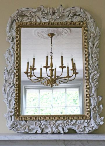 Victorian Gilt Overmantle Wall Mirror (1 of 1)