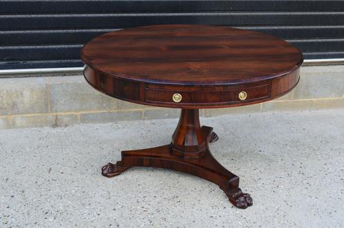 William IV Antique Rosewood Dining Table / Centre Table (1 of 1)