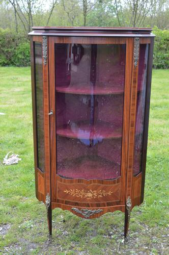 Epstein French Style Display Cabinet (1 of 1)