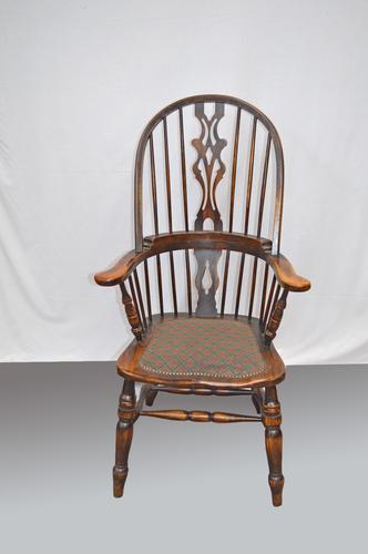 Elm Windsor Chair / Fireside Chair c.1900 (1 of 1)