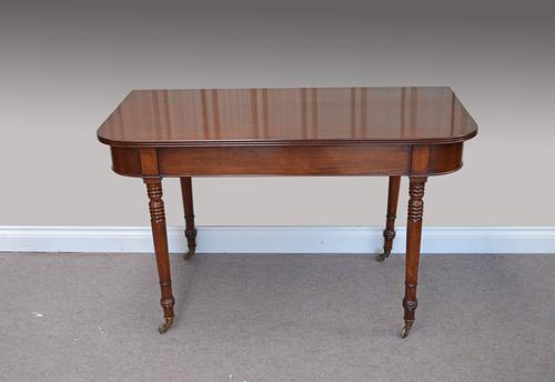 Georgian Mahogany Hall Table (1 of 1)