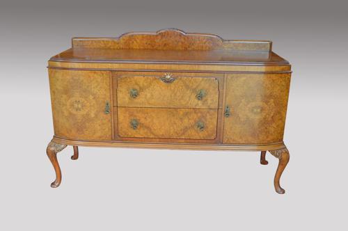 Antique Walnut Queen Anne Sideboard Maple & Co (1 of 1)
