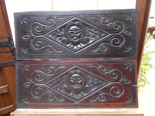 North Country Panels Carved Depicting English Gentleman 1660 (Free Shipping to Mainland England) (1 of 10)