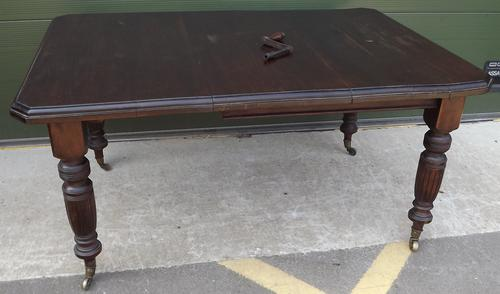 Victorian Mahogany Wind-Out Dining Table (1 of 7)