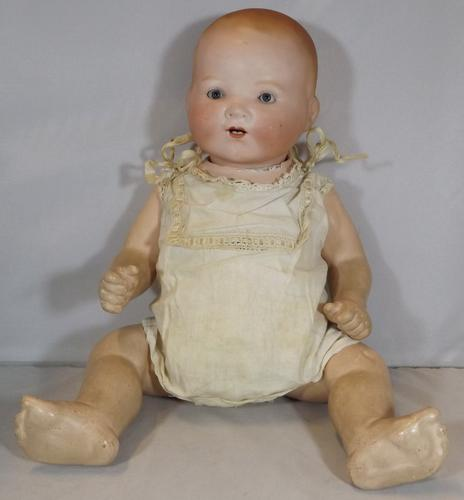 "Antique 14"" Bisque-Head Armand Marseille Dream Baby Doll (1 of 1)"