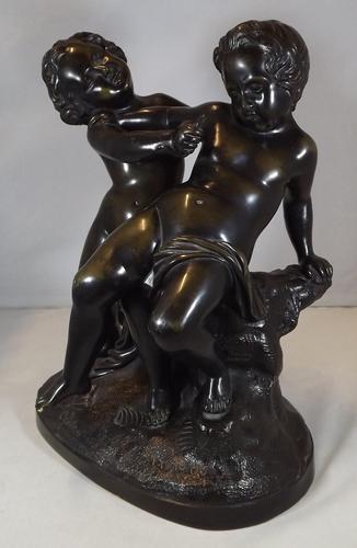Antique Joseph Marius RAmus Bronze Sculpture (1 of 1)