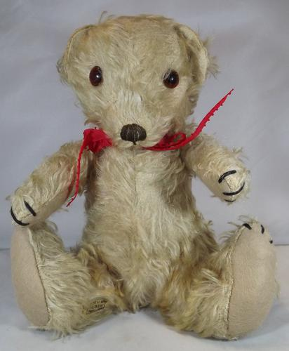 "Vintage 1930s 11"" Merrythought Bingie Teddy Bear (1 of 1)"