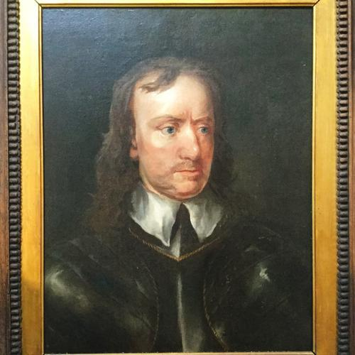 Affordable Fine Art Oliver Cromwell the Lord Protector of England (1599-1658) After Sir Peter Lely Oil Portrait Painting (1 of 1)