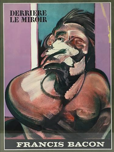 Francis Bacon Original Dlm Cover Lithograph No 162 Derriere Le Miroir First Edition 1966 (1 of 7)