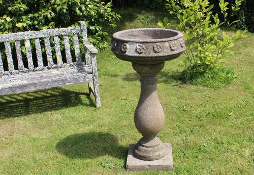 Pedestal Base Garden Planter. Vintage Jardinière. Early 20th Century (1 of 4)