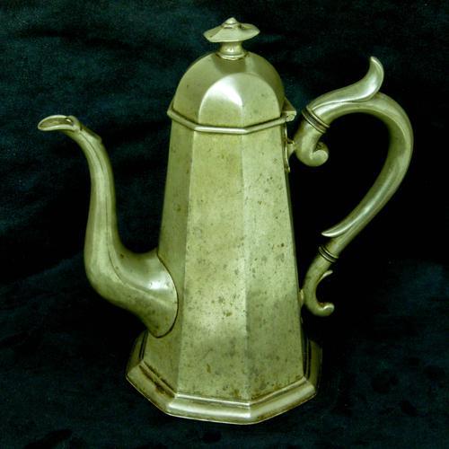 'Georgian Style' Victorian Coffee Pot c.1890 (1 of 8)