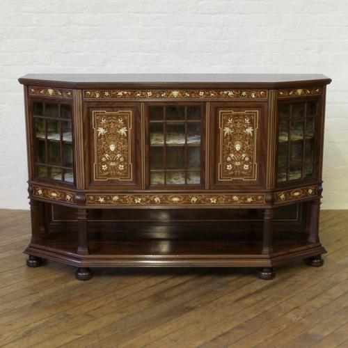 T.Simpson & Sons Mahogany Side Cabinet c.1905 (1 of 26)