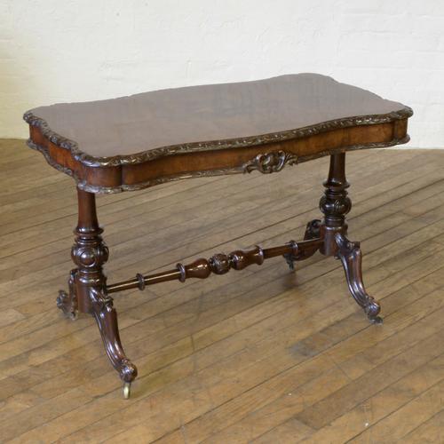 Victorian Walnut Table c.1860 (1 of 9)