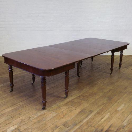 George III Mahogany Extending Table c.1800 (1 of 1)
