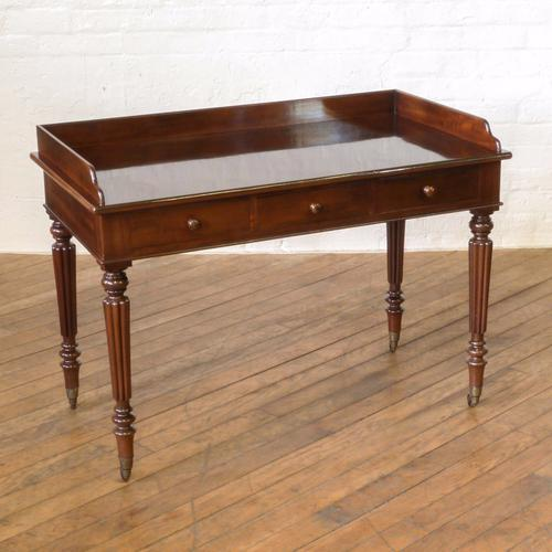 George IV Gillows Mahogany Side Table (1 of 1)