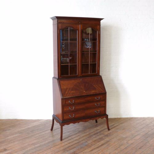 Mahogany Bureau Bookcase (1 of 14)