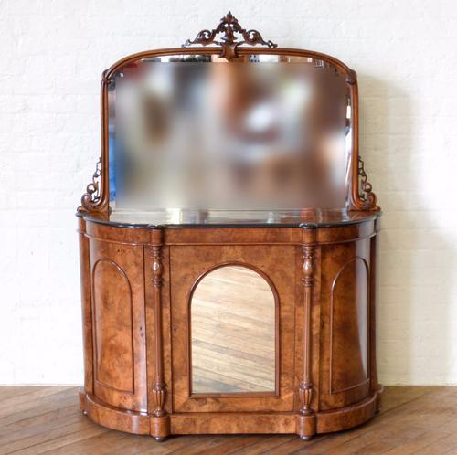 Victorian Walnut Chiffonier (1 of 1)