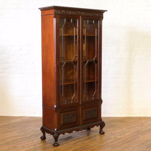 Chippendale Revival Bookcase c.1900 (1 of 1)